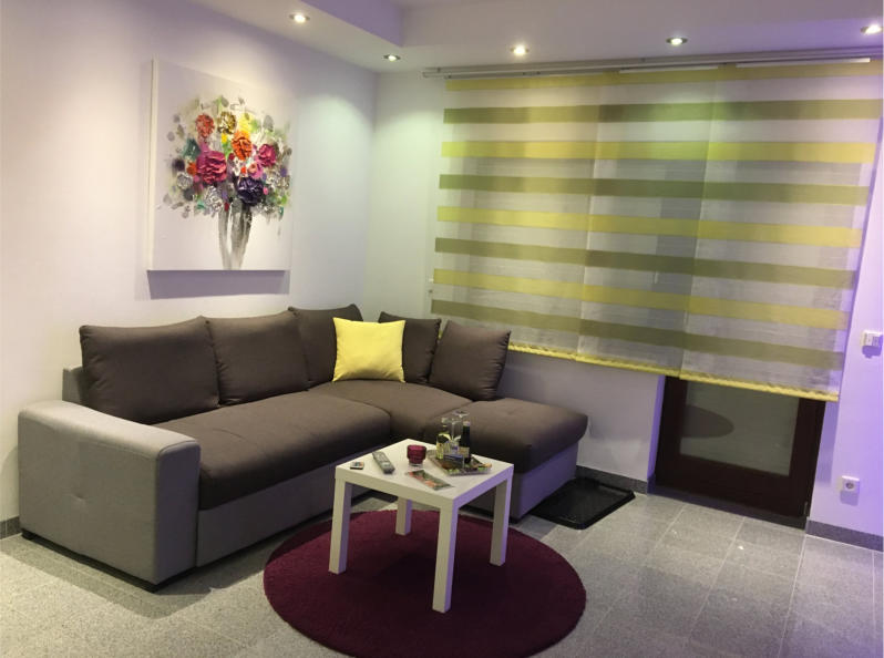 Apartment 1 - Wohnzimmer