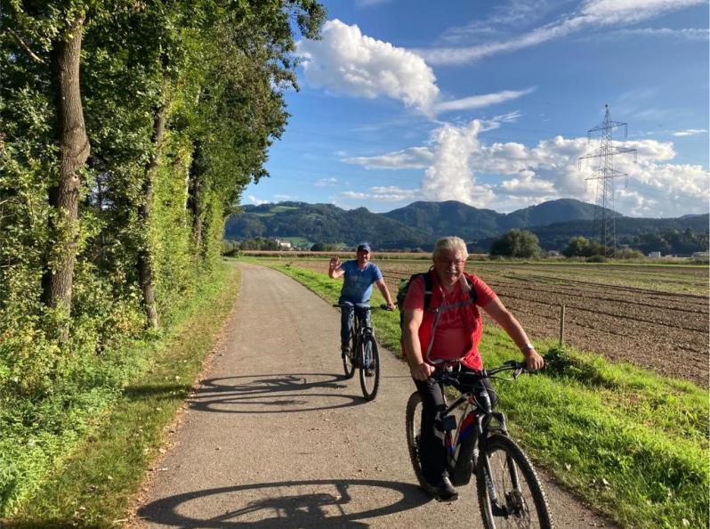 Auf dem Lavantradweg von Wolfsberg nach Lavamünd